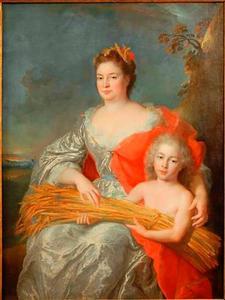 Portret van een vrouw als Cérès