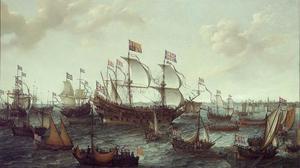 De aankomst van Frederik V van de Palts en zijn gemalin Elisabeth Stuart te Vlissingen, op 29 april 1613
