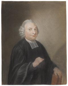 Portret van een predikant, mogelijk Johannes Florentius Martinet (1729-1795)