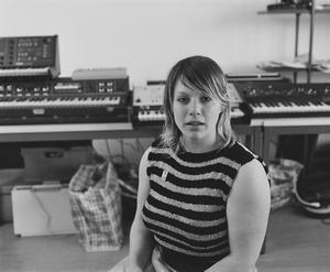 Nathalie Bruys in haar atelier