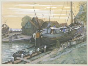 Drydock at Durgerdam