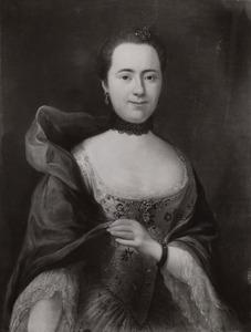 Portret van Cornelia de Ron (1721-1784)