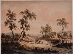 Duinlandschap bij Haarlem