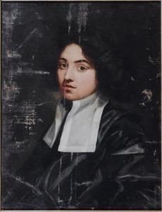 Portret van een jonge geestelijke