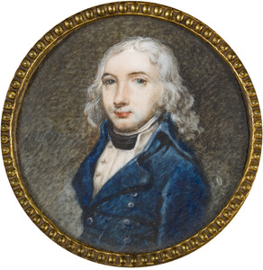 Portret van Abraham Veerman Senserff (1768-1804)