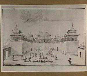Het paleis van de Chinese keizer in Peking
