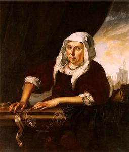 Portret van Alida Greffet (?-?)
