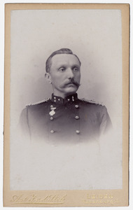 Portret van J. van Wijk (1842-1904)
