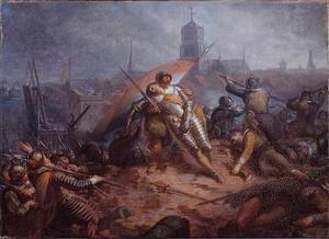 Anno 1627. Willem van Nassau sneuvelt bij Grol
