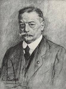Portret van Lodewijk Franciscus Hendrik Apol (1850-1936)