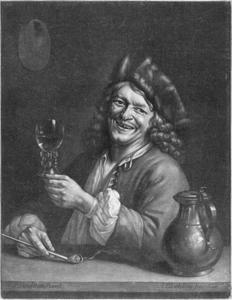 Portret van  Pieter Gerritsz. van Roestraeten (1630-1700)
