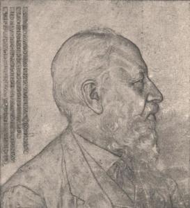 Portret van W.A.G. Perks