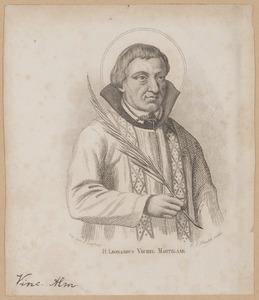 Portret van Leonard van Veghel (1527-1572)