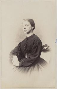 Portret van een vrouw uit familie Tromp