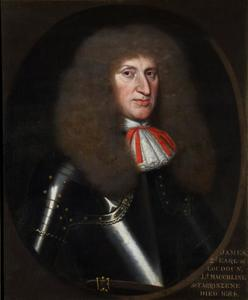 Portret van James 2nd Earl of Loudoun, 2nd Lord Tarrinzean and Mauchline