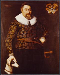 Portret van Frans Harinxma (van) Donia (ca. 1590-1651)