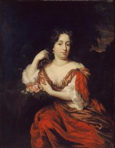 Portret van Catharina Dierkens (1664-1715)