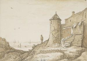 Wachthuis de Vijgeter te Koudekerke (Veere) bij Vlissingen