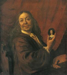 Zelfportret van Bartholomeus van der Helst (1613-1670)