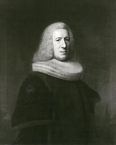 Portret van burgemeester Dr. Conrad Widow (1686-1754) in ambtskostuum