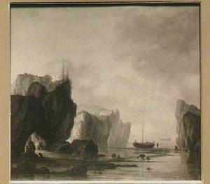 Schepen in een fjord