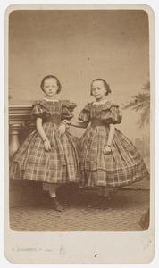 Dubbelportret van Cato en Geertje Werner