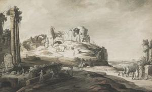 Capriccio van Romeinse ruïnes