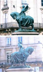 Ruiterstandbeeld van Jeanne d' Arc
