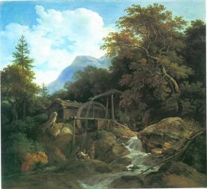 Watermolen bij Ohlstadt