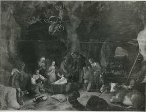 De aanbidding van de herders (Lucas 2, 15-19)