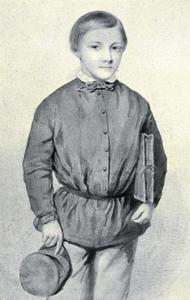Portret van Théodore Jean Pierre Beguin (1839-1869)
