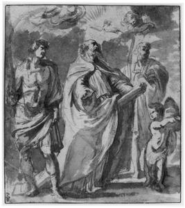 HH. Gregorius, Maurus en Papianus