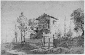 Woontoren in een Italiaans landgoed