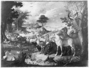 Landschap met de Ark van Noach