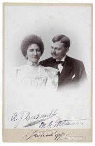 Portret van Marinus Godefridus Wildeman (1864-1936) en A.J. Dussault (?-?)