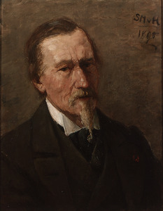 Portret van Paul Joseph Constantin Gabriel (1828-1903)