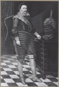 Portret van Frederik Hendrik van Oranje-Nassau (1567-1625)