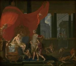 Het huwelijk van Alexander en Roxane