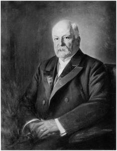 Portret van Willem Hendrik Teding van Berkhout (1830-1917)