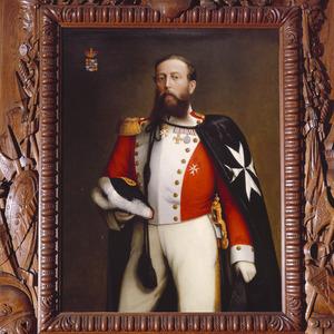 Portret van Jacob Hendrik van Rechteren Limpurg (1831-18780