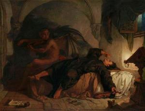 De droom van Giuseppe Tartini: de duivel speelt hem de 'Duivels Sonate' voor