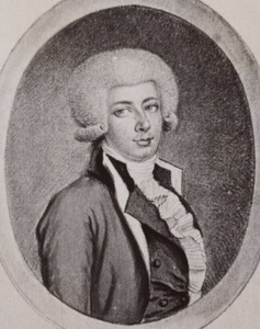 Portret van Andreas Christian Boode (1765-1844)