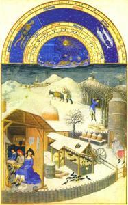 Tres Riches Heures du Duc de Berry: februari