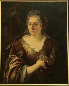 Portret van Maria Post (1643-1720), moeder van de kunstenares Rachel Ruysch (1664-1750)