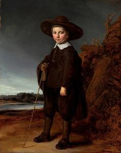 Portret van een jongen, mogelijk David Leeuw (?-1703)