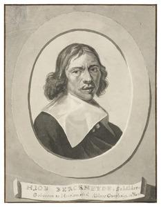 Portret van Job Adriaensz. Berckheyde (1630-1693)