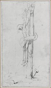 Gestorven Christus aan het kruis