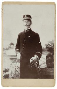 Portret van Theodoor Domela (1872-1941)