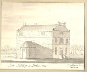 Het stadhuis te Lochem anno 1723