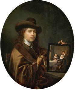 Zelfportret met familieportret